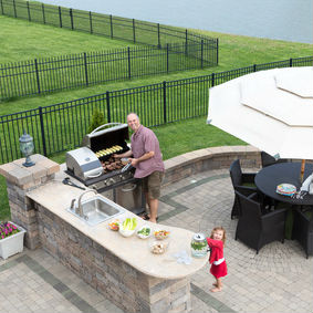 Find out which appliances fit your needs with our Plano outdoor kitchen construction consultation