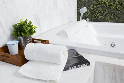 If you love eclectic design, our bathroom remodeling service can help you achieve the look you want.