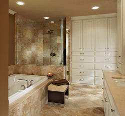 Custom Remodeled Bathroom