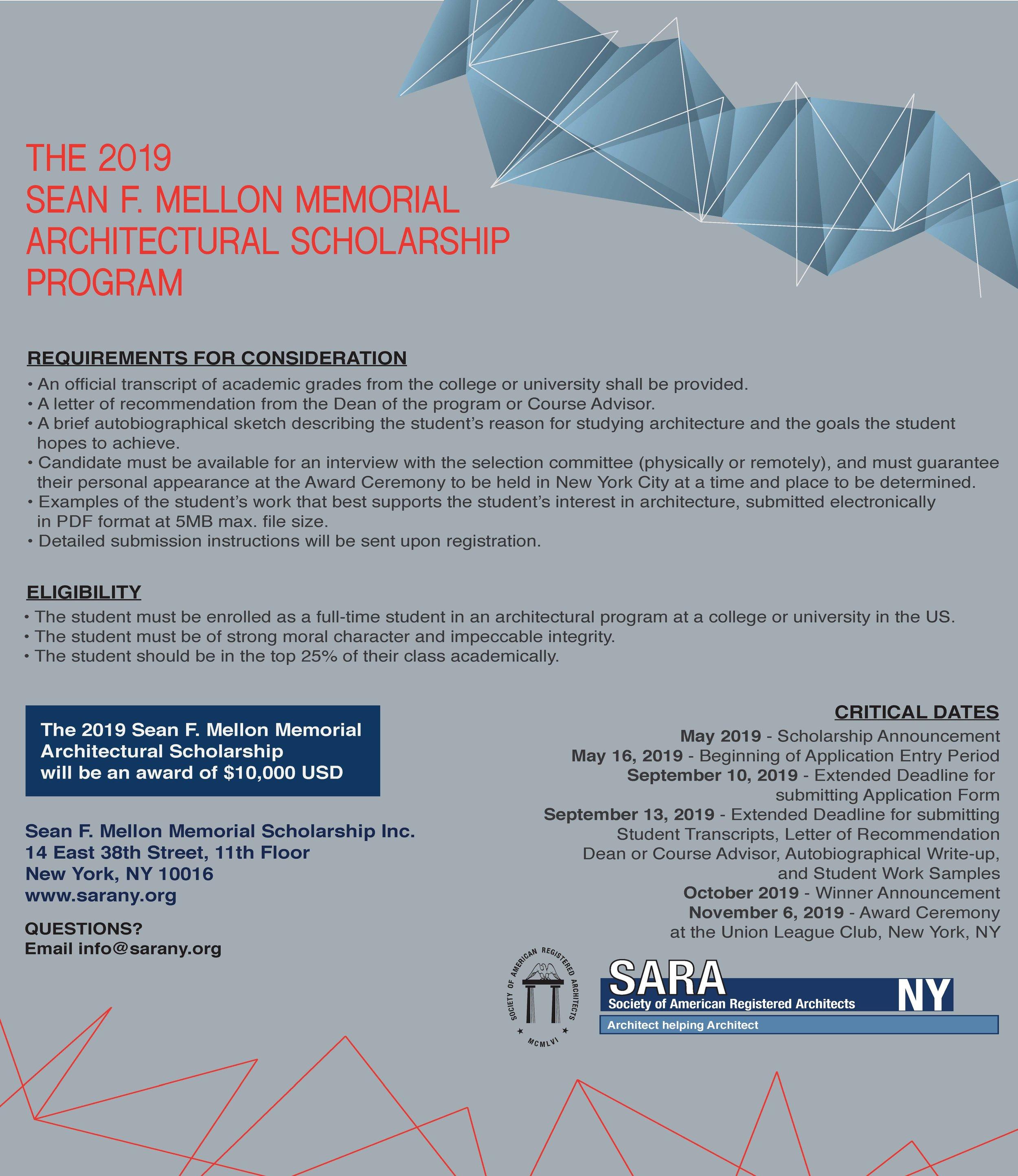 Extended Deadline Sfm Scholarship Extended Deadline For