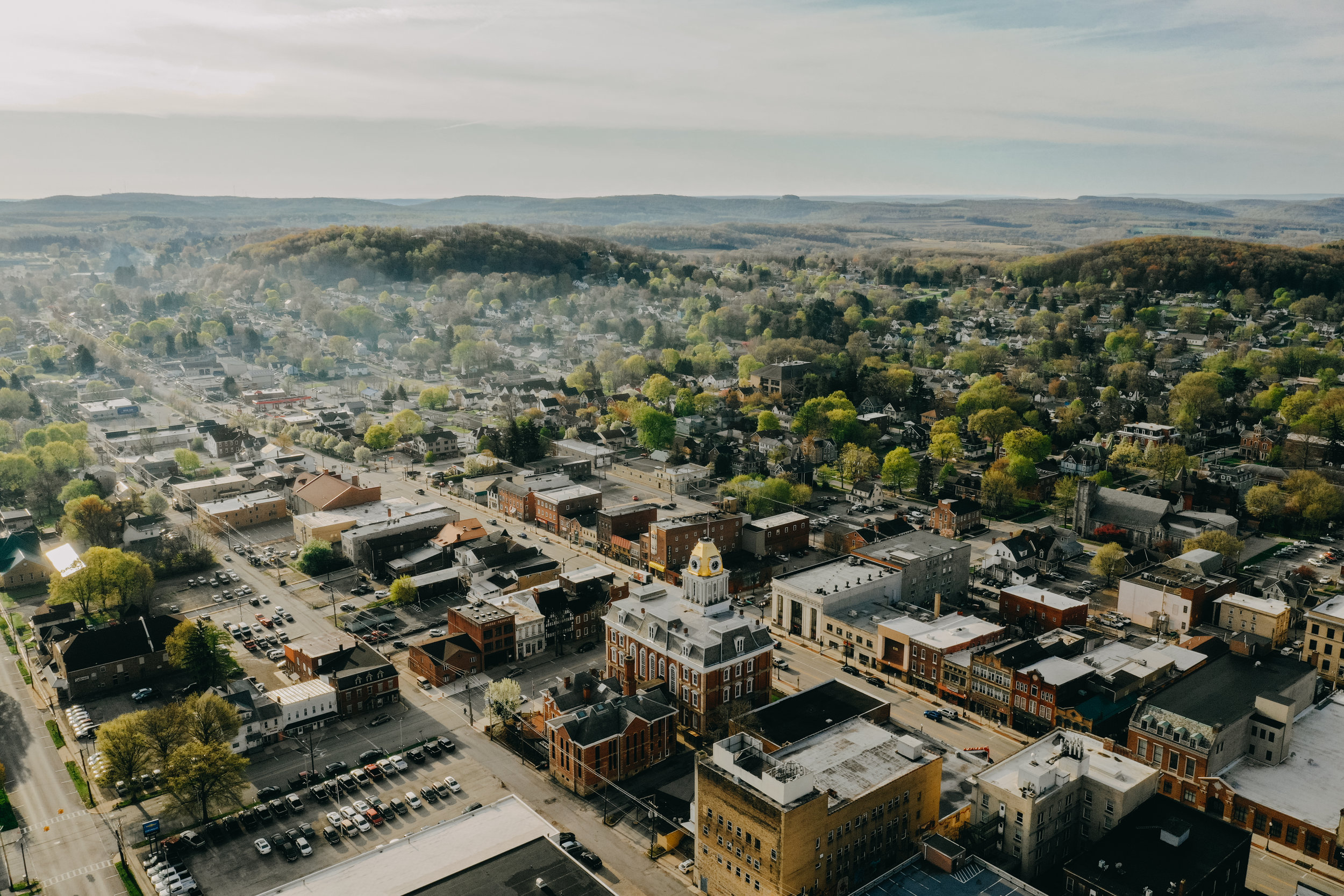 Indiana county has a rich history, beautiful surroundings, and a welcoming community