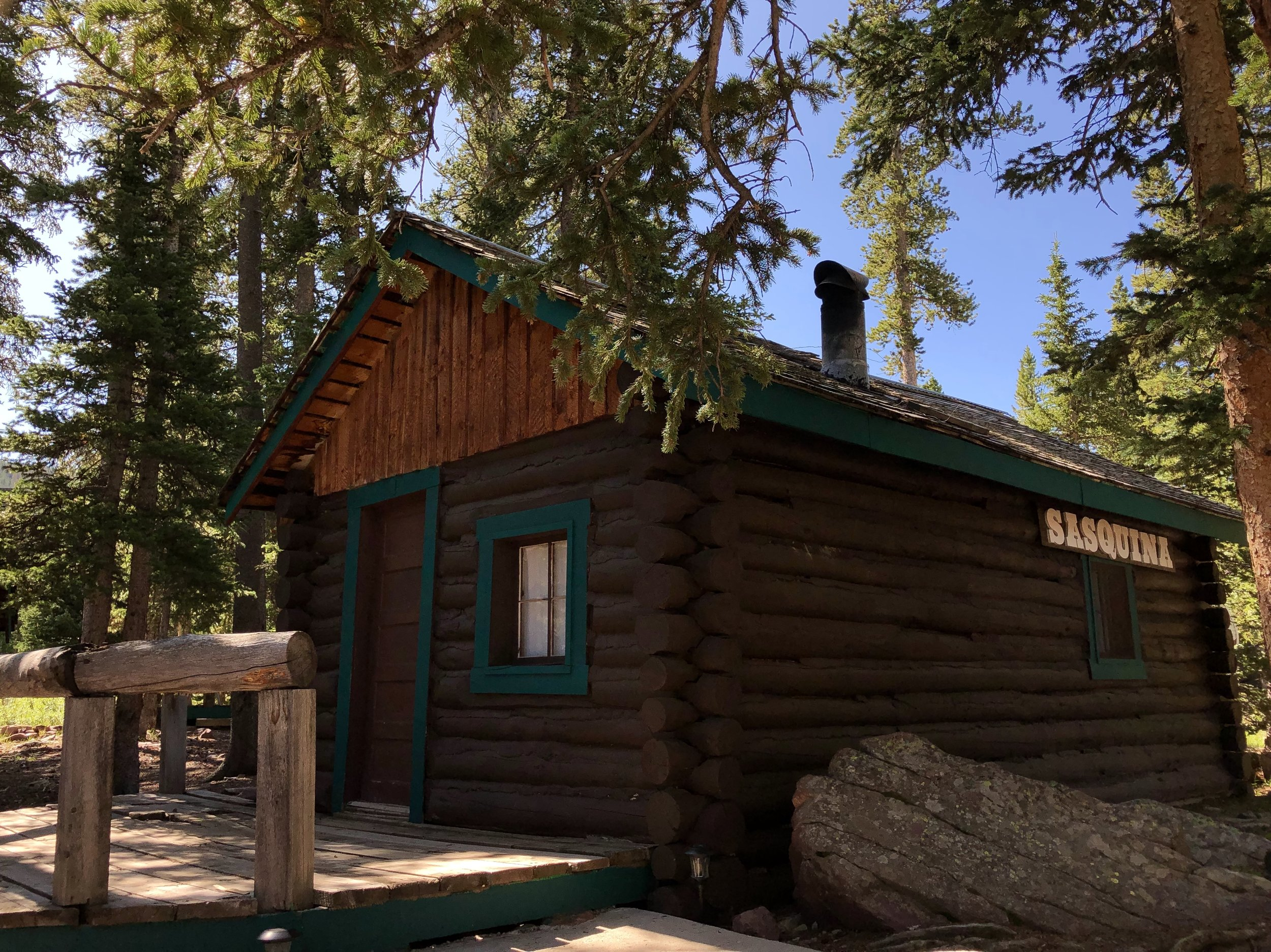 Sasquina - Sleeps 4 - 228 sq/ft Two Bedroom CabinSingle Queen Bed In Each RoomRooms Are Separated By Wall With OPEN Door WayThese Rooms Are NOT Completely Private From Each OtherPricingSunday - Thursday | $85/NightFriday & Saturday |$100/Night