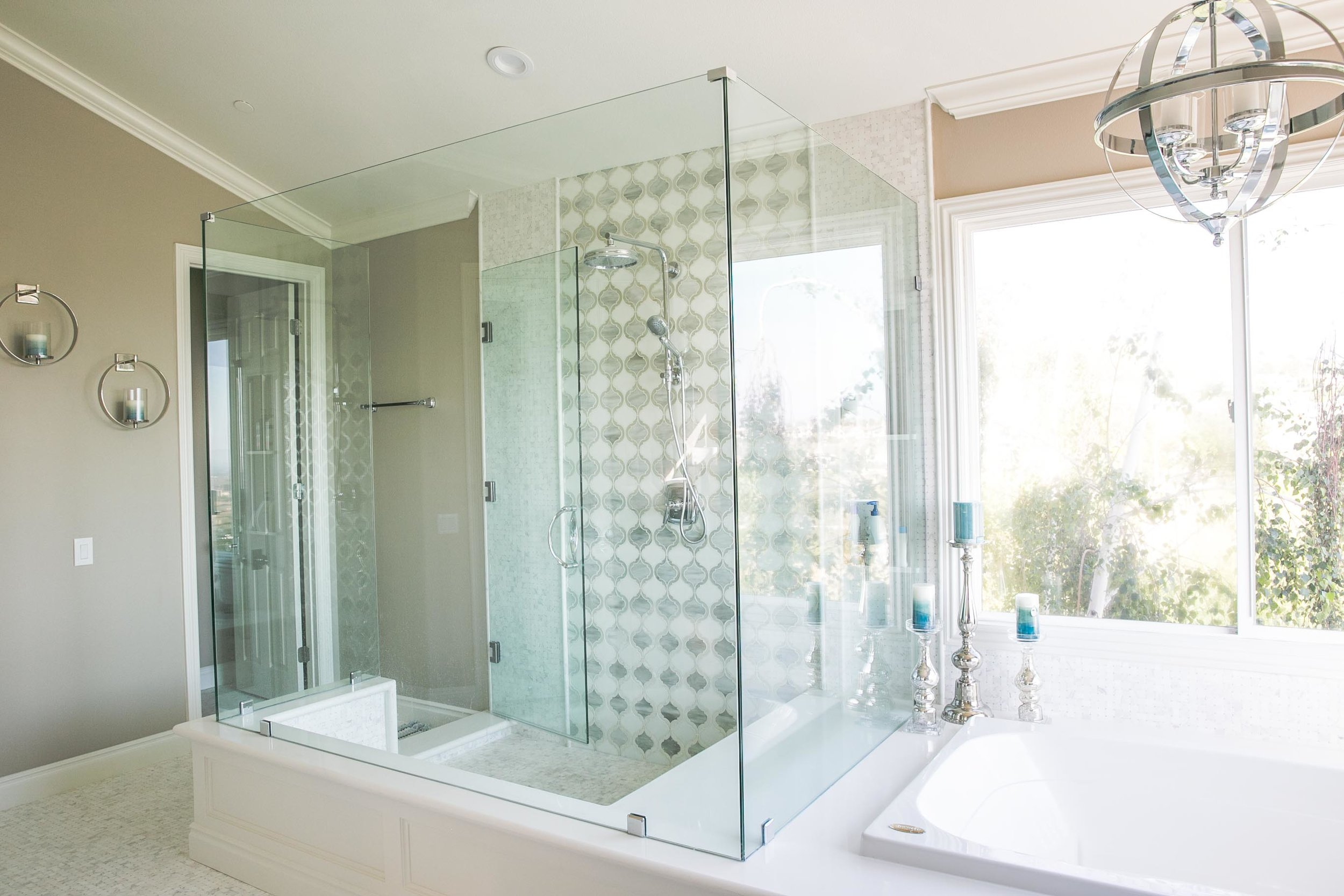 RESIDENTIAL GLASS - - Frameless Shower Glass- Shower service & Restoration- Mirrors- Window Film- Doors & Windows- Wardrobe- Sliding Glass Doors- Replacement Glass & Window Repair