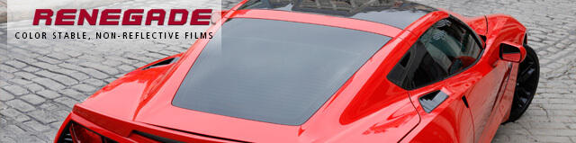 Renegade Color Stable, Non-Reflective Auto Window Tint