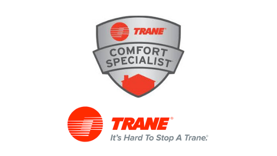 K & J Heating and Cooling. Local TRANE Comfort Care Specialist.