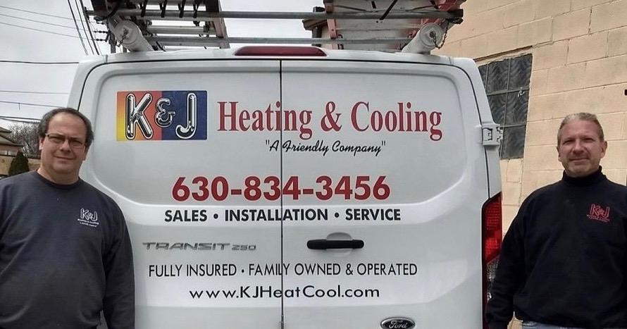 Call K & J for New Furnace and New AC Installation Elmhurst HVAC, Villa Park HVAC, Lombard HVAC. 630-834-3456.