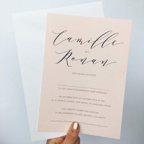 How to: Wedding Invitations Wording - All you need to know…