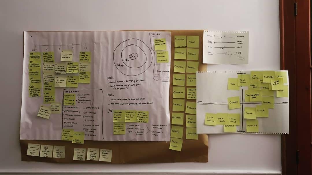 Dag 3 - Dag drie gaat over het selecteren van de beste ideeën die we zullen omzetten in prototypes. Welke ideeën hebben het meeste potentie om gedrag te beïnvloeden of het gedrag te ontwerpen zoals wij dat voor ogen hebben?