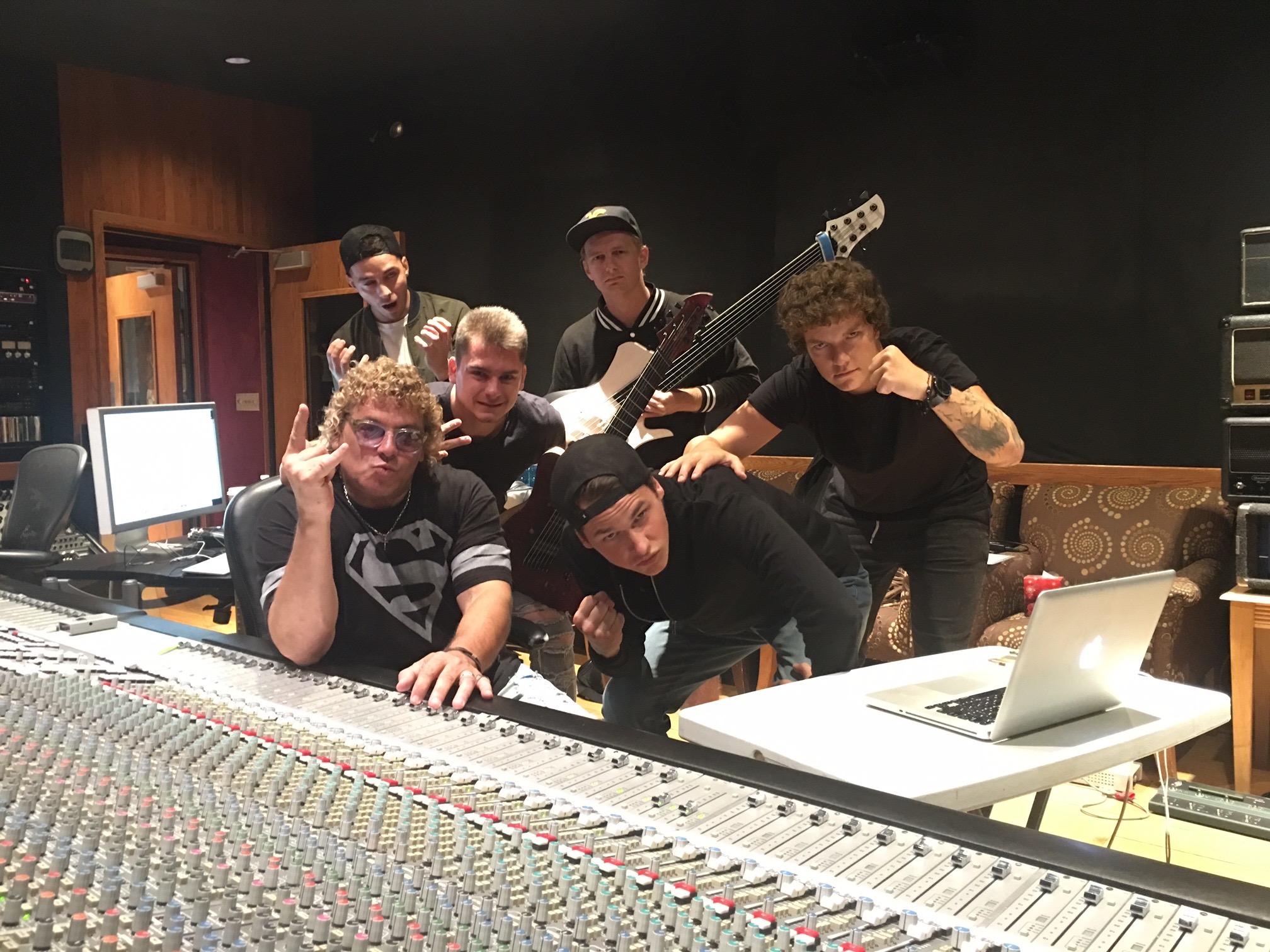 Working hard in Nashville with Blitz Union