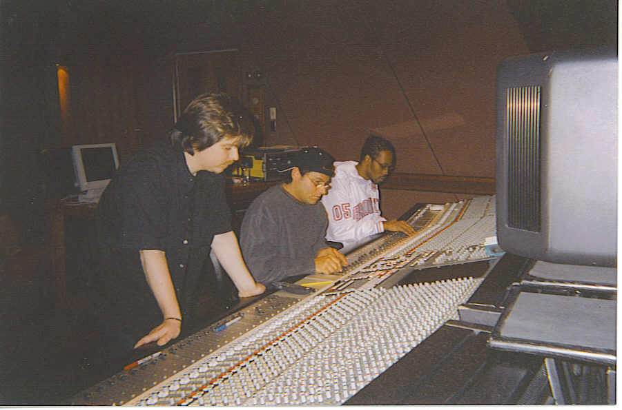 Working with RZA and Wu Tang in New York City.