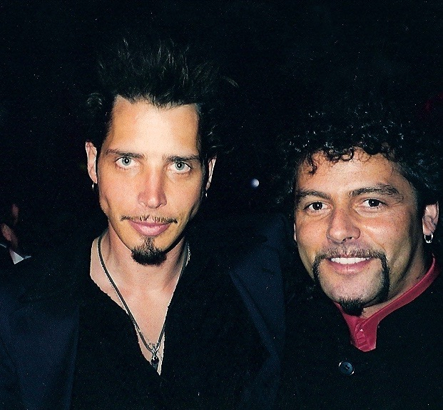 Chris Cornell and Steve at the Grammys.
