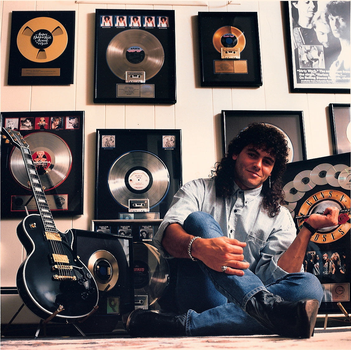Steve, back in the day at his New York home.