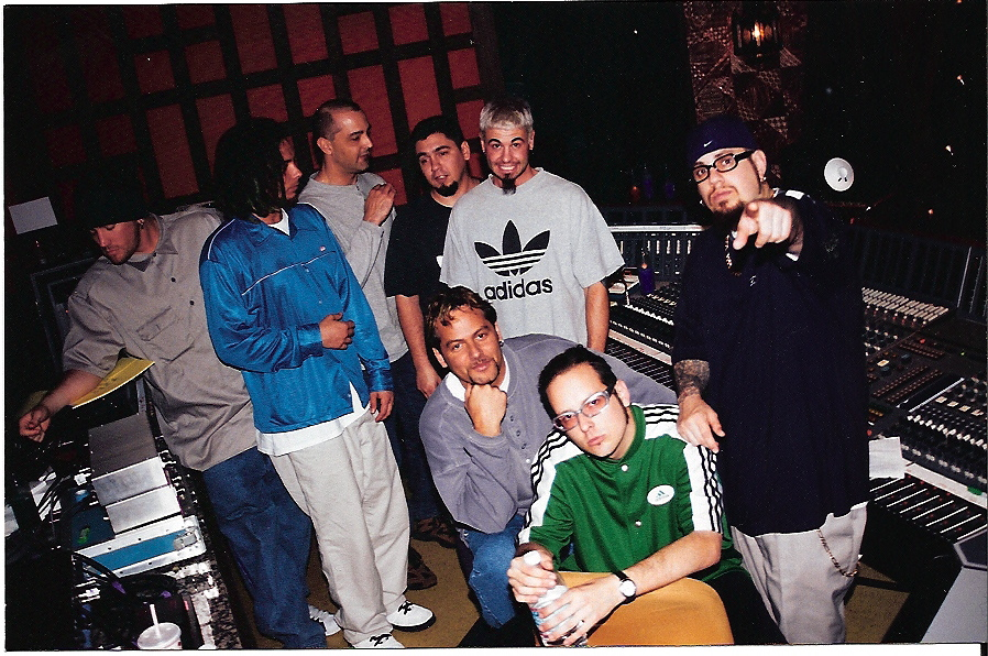 Producing Korn 'Follow the Leader' in Los Angeles.