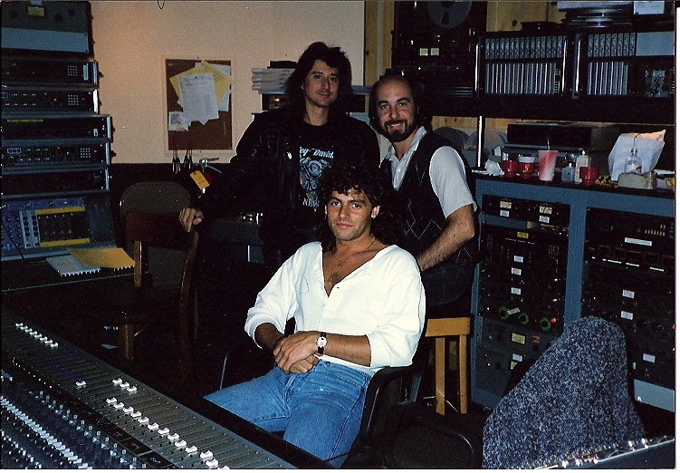 Working with Steve Perry and Journey in New York City.