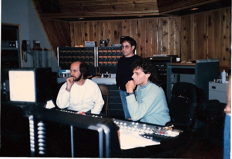 Working on Paul Simon's 'Graceland' in New York City.