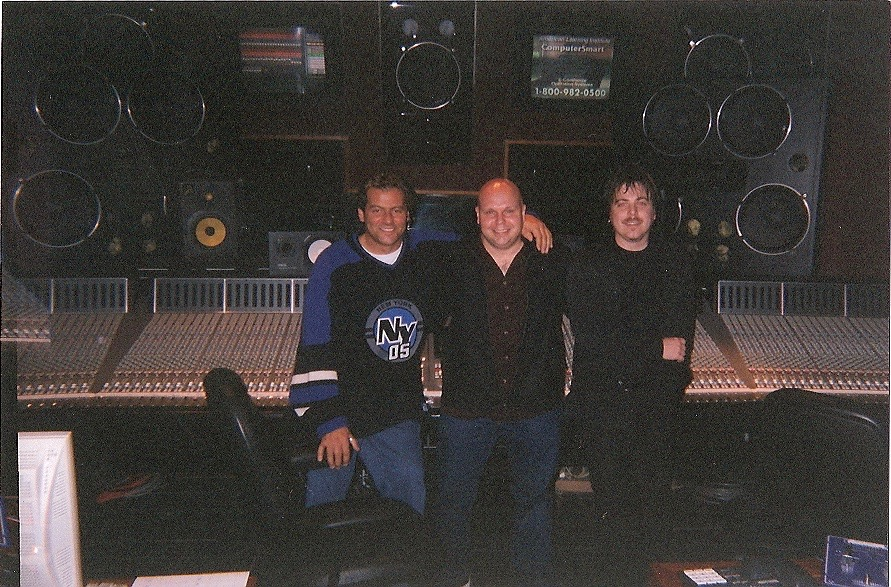 With Matt Pinfield at Hit Factory - Finished Wu-Tang