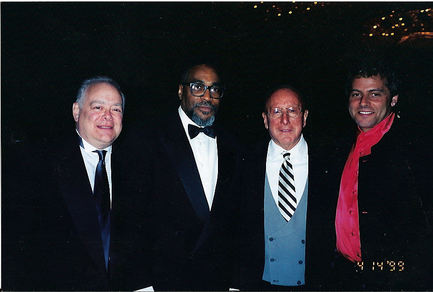 At the Grammys with Ron Alexenberg, Kenny Gamble, Clive Davis and Steve.