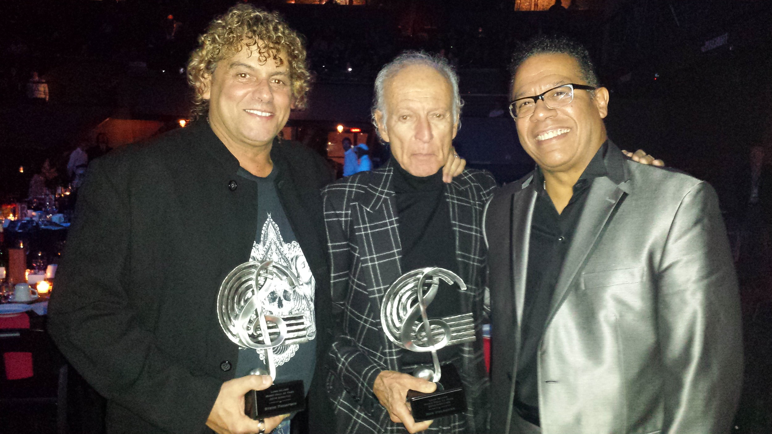 Long Island Music Hall of Fame with Steve Thompson, Ron Delsner, and Carlos Alomar.