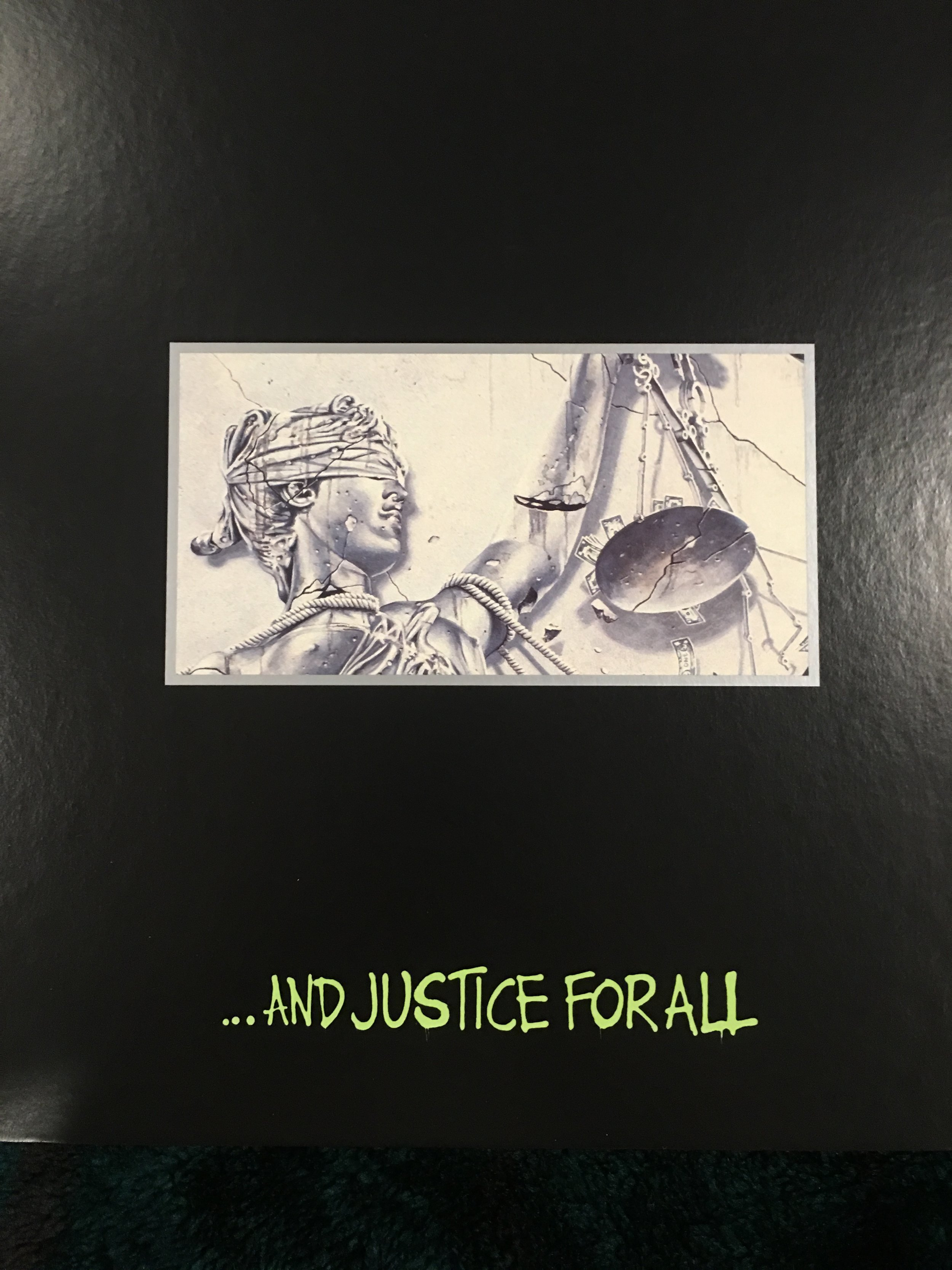 Metallica's …And Justice For All Box set.