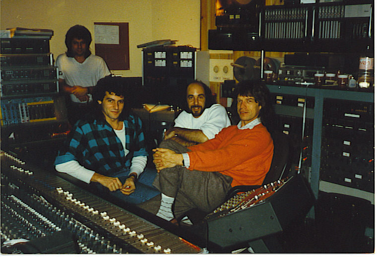 Working with Mick at Media Sound NYC