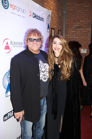 Steve and Joanne at the red carpet before the awards.