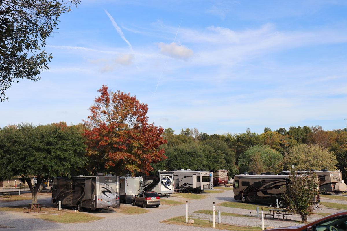 Birmingham South RV Park Landscape
