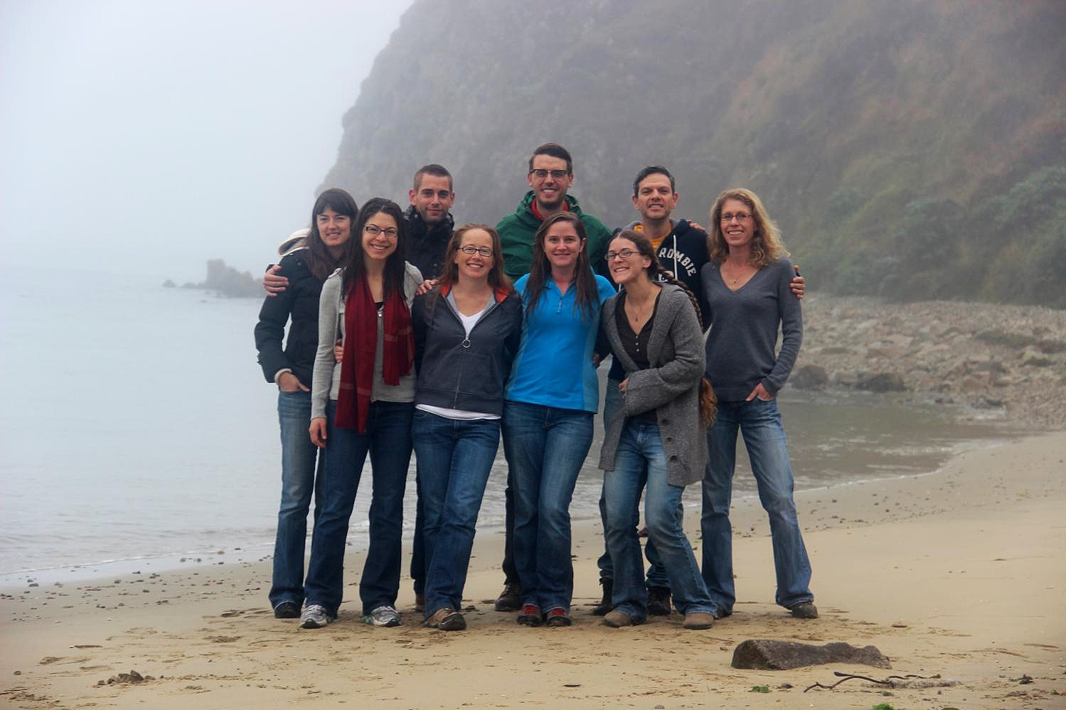 Lab Retreat 2013: Joan Dudney, Lauren Hallett, Pierre Mariotte, Erica Spotswood, Dylan Chapple, SaraJo Dickens, Emily Farrer, Fernando Bechara, Katie Suding