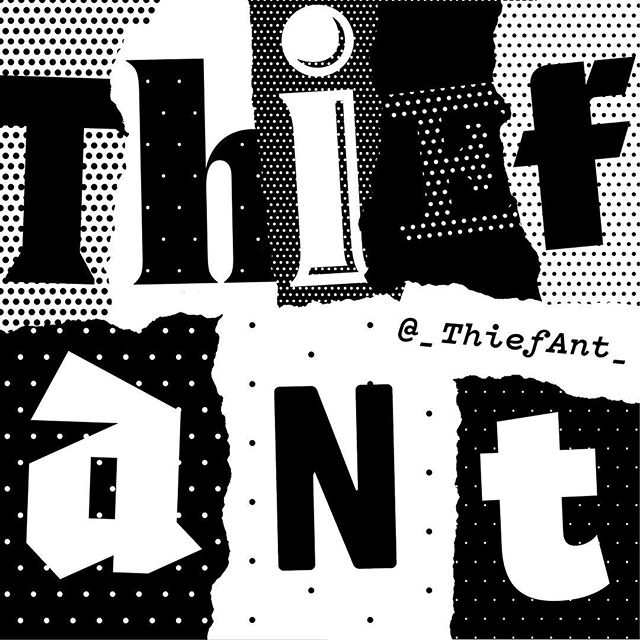"Calling card for @_ThiefAnt_. . ""Hello! You have been chosen to have your valuables plundered by Thief Ant. I will be coming soon for them, have a wonderful day!"" . .. . #indyhall_arts #wrestling #illustration #graphicdesign"
