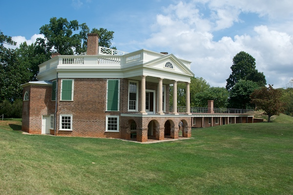 Poplar Forest. Photo: Warfieldian - Own work, CC BY-SA 3.0.