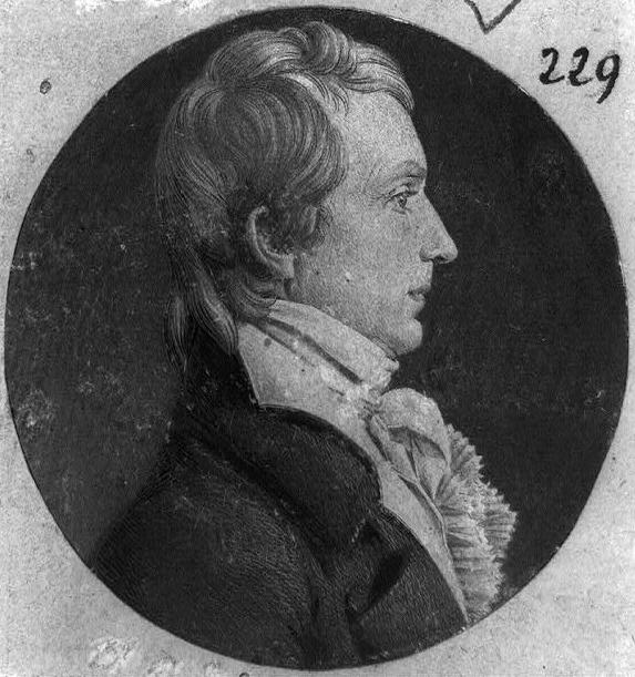 General James Breckinridge by Charles Saint-Mémin. Image: Library of Congress - Public Domain.