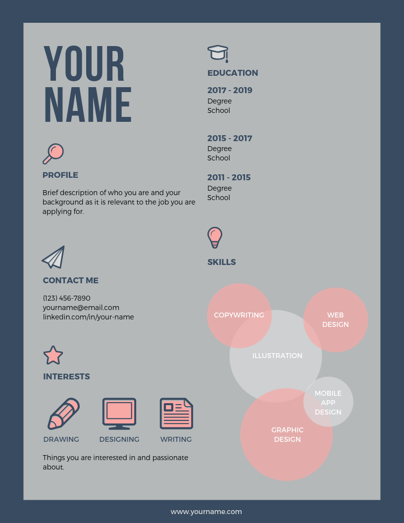 Pink Colorful Infographic Resume.png