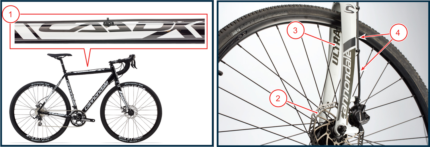 CAADX - How to identify an affected bike