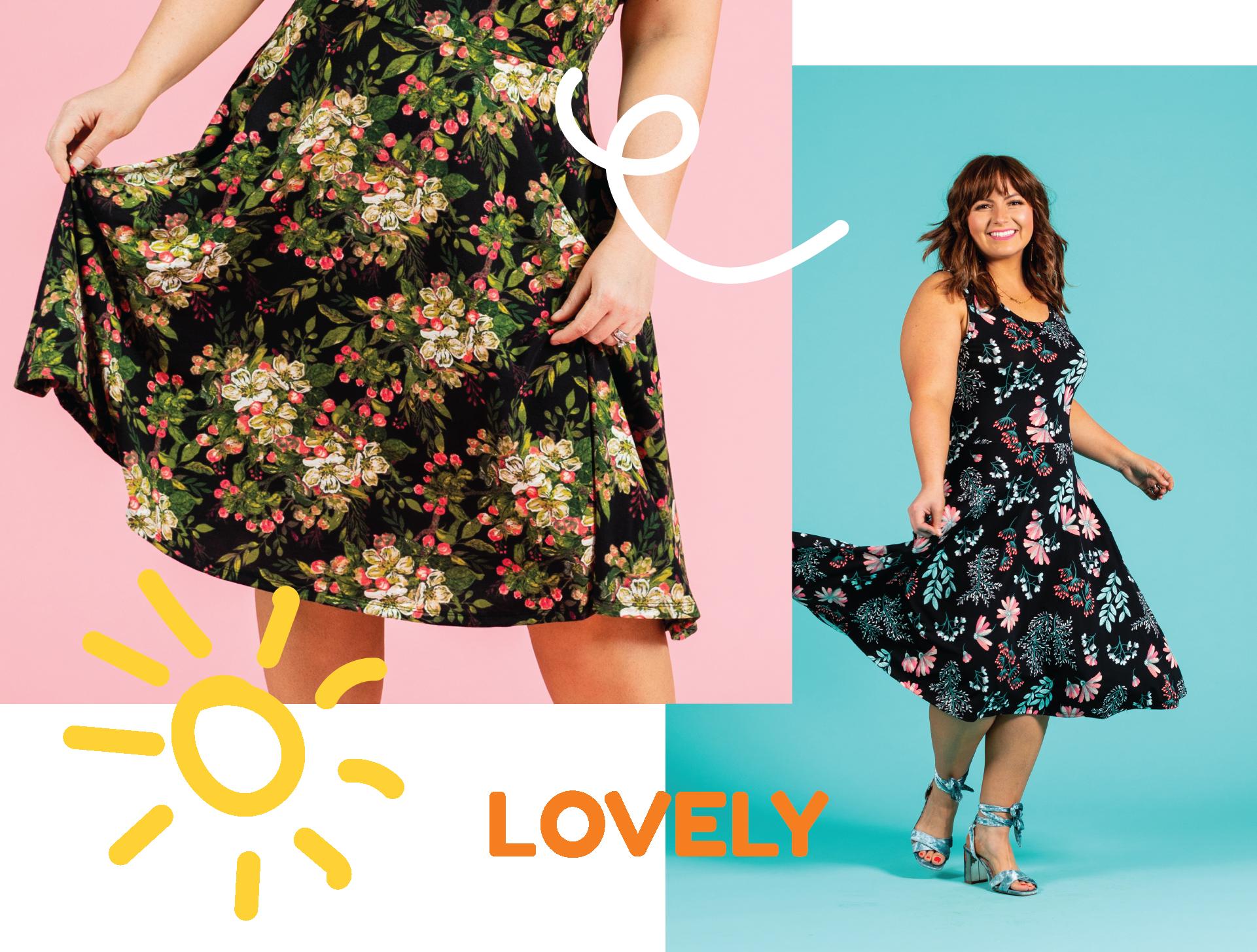 9c854547c LuLaRoe Nicki Sleeveless A-Line Dress Large Size — LuLaRoe ...