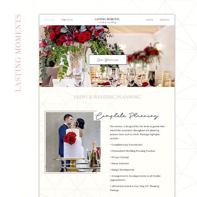 It's Monday and Lasting Moments has a special announcement!!!! We are happy to announce our NEW website is now LIVE!!!!! Thanks to our website designer @keshiamwhite for creating such a clean & easy to use site!!!! Head over to our website to check it out (link in bio) . . . #weddingplanner #weddingplanning #atlwedding #atlweddingplanner #theknotplanner #theknot #atlbrides #atlbride #eventplanner #events #eventsatl #eventsatlanta