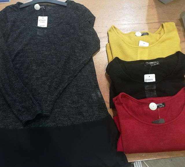 Long sleeved slips have arrived!!! $44.95 at Merric Morrison Squae. Available in 4 colours!!!