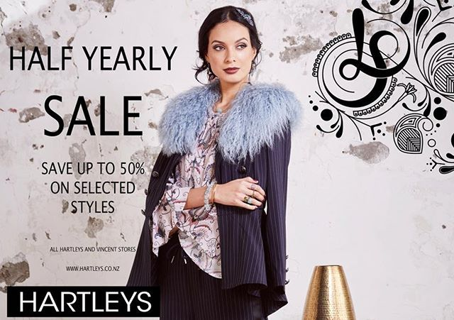 Hartleys Morrison Square half yearly sale now on