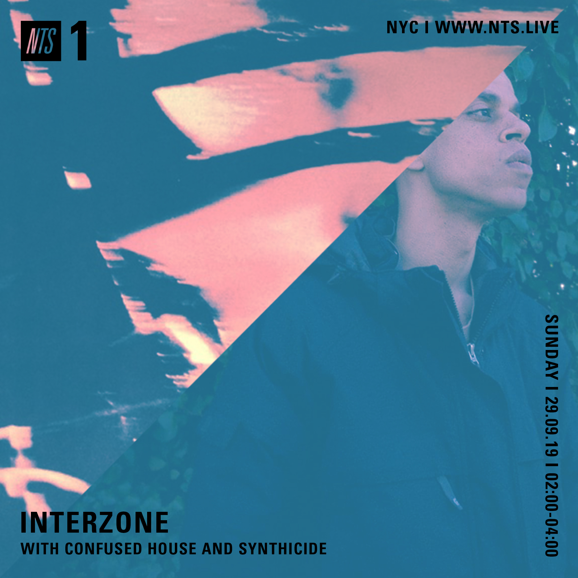 Tune into NTS Radio this evening for the second of our INTERZONE radio sessions. Tonight's show features Confused House and Synthicide (with IZ2019 artist Kontravoid in the mix for the latter.) We'll be going live between 9-11pm NYC time on Ch1: http://www.nts.live