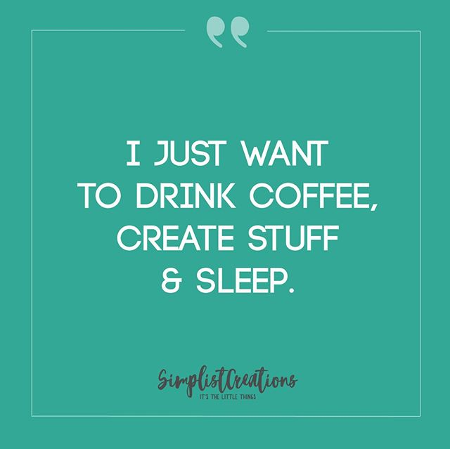 This is actually a fairly accurate description of my life.... Whether it's my day time 9-5 job or my after work side hustle.⁣ ⁣ #livingmybestlife #create #livetocreate #makersgoingtomake