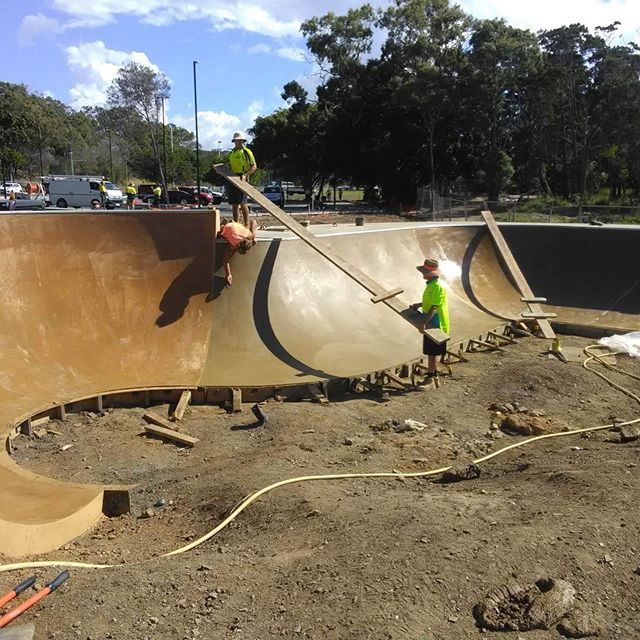 Can see the epic arvo bowl sessions happening in the near future!!! #PialbaPrecinctSkatepark #TrintiySkateParks #CultivateActiveHealthyCommunities🌏 #TSPprogresspich