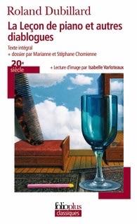 La Leçon de piano et autres Diablogues , Gallimard, (coll. Folio plus classiques), 2009.