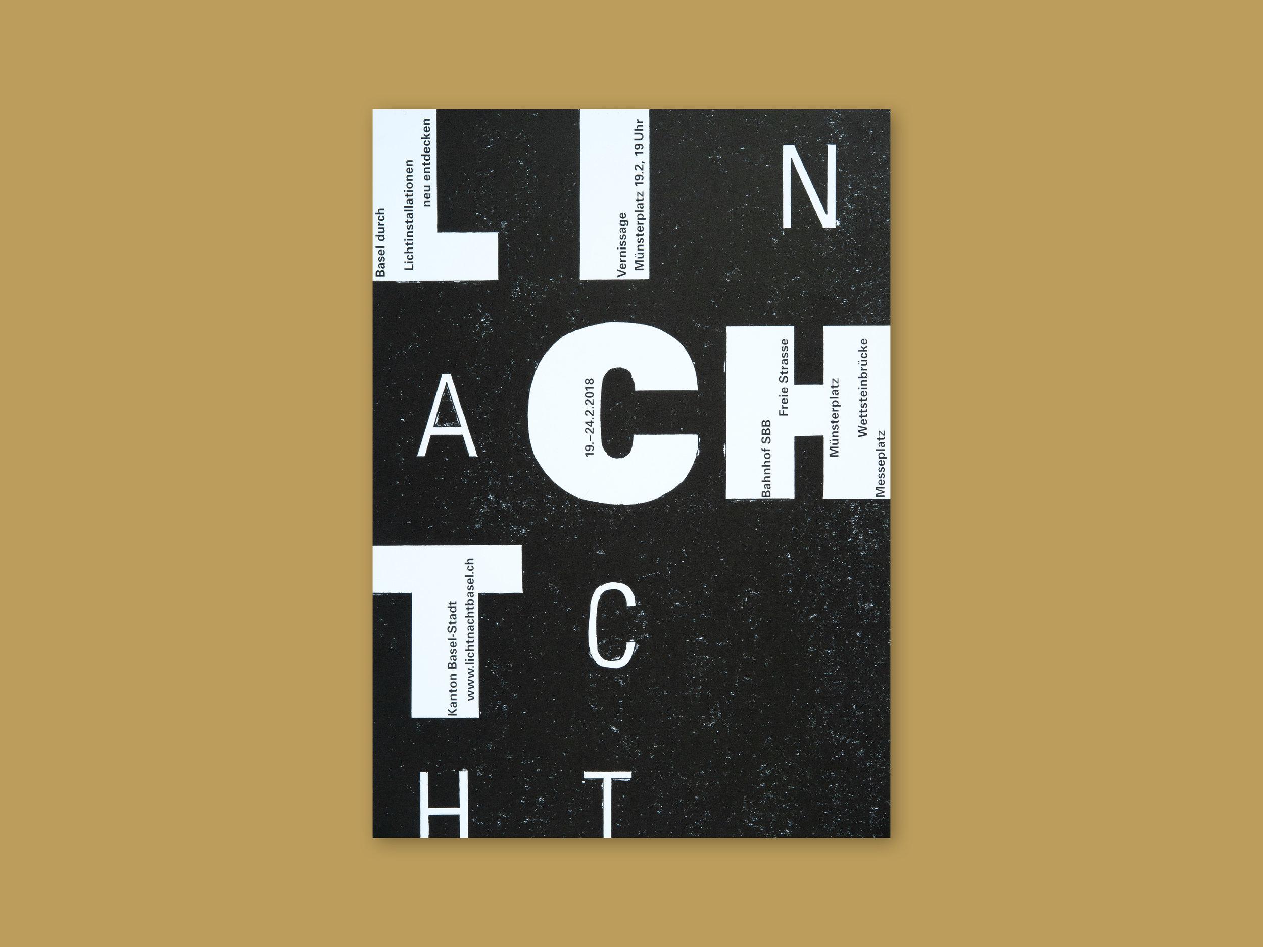Plakat – Lichtnacht
