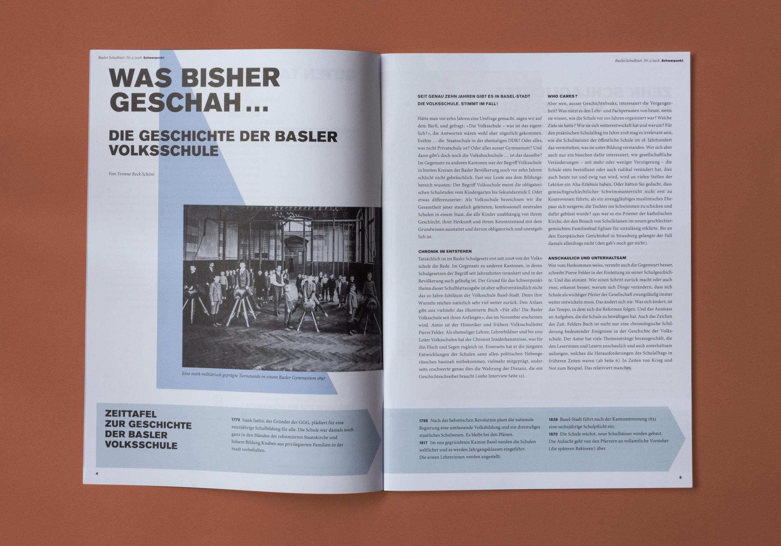 Fachmagazin – Basler Schulblatt