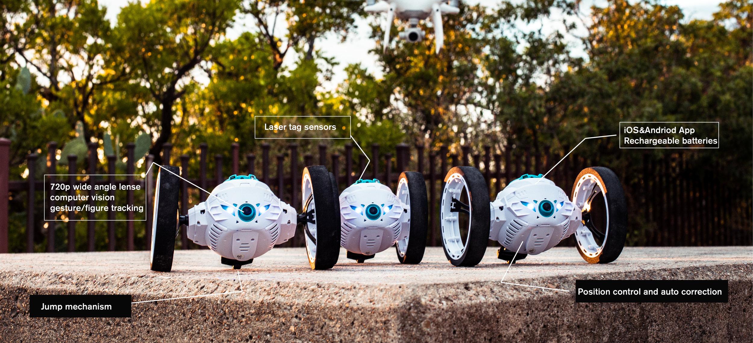 Jukibot robot cutouts