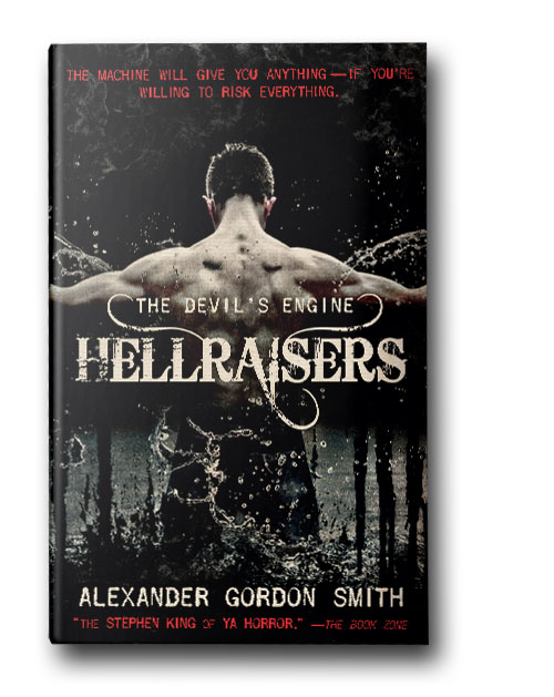 Hellraisers - There is a machine from the darkest parts of history, concealed in an impossible location, that can make any wish come true, and the only price you have to pay is your soul. Known as the Devil's Engine, this device powers a brutal war between good and evil that will decide the fate of every living thing on Earth.When a 16-year-old asthmatic kid named Marlow Green unwittingly rescues an ass-kicking secret soldier from a demonic attack in the middle of his New York neighborhood, he finds himself following her into a centuries-old conflict between a group of mysterious protectors and the legions of the Devil himself.Faced with superpowers, monsters, machine guns, and a lot worse, Marlow knows it's going to be a breathless ride—and not just because he's lost his inhaler along the way.