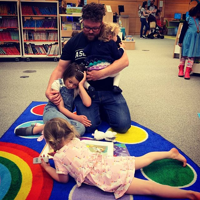 Happy Place. #authorlife #writersofinstagram #authorsofinstagram #instadad #instakids #libraries #readingtime #readingtokids #happyplace