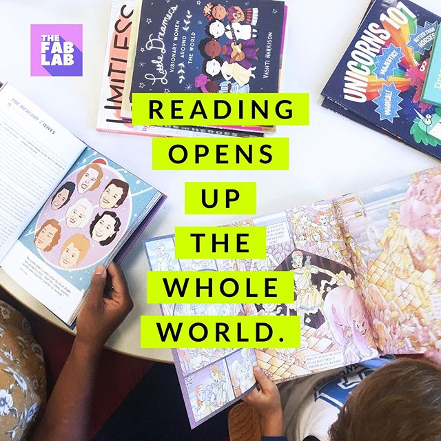 Dive in. Happy #WorldLiteracyDay