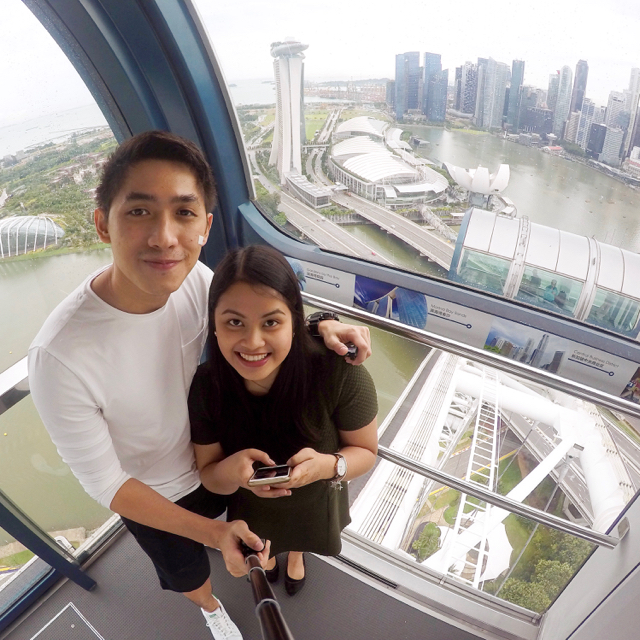 Rode the Singapore Flyer last December.