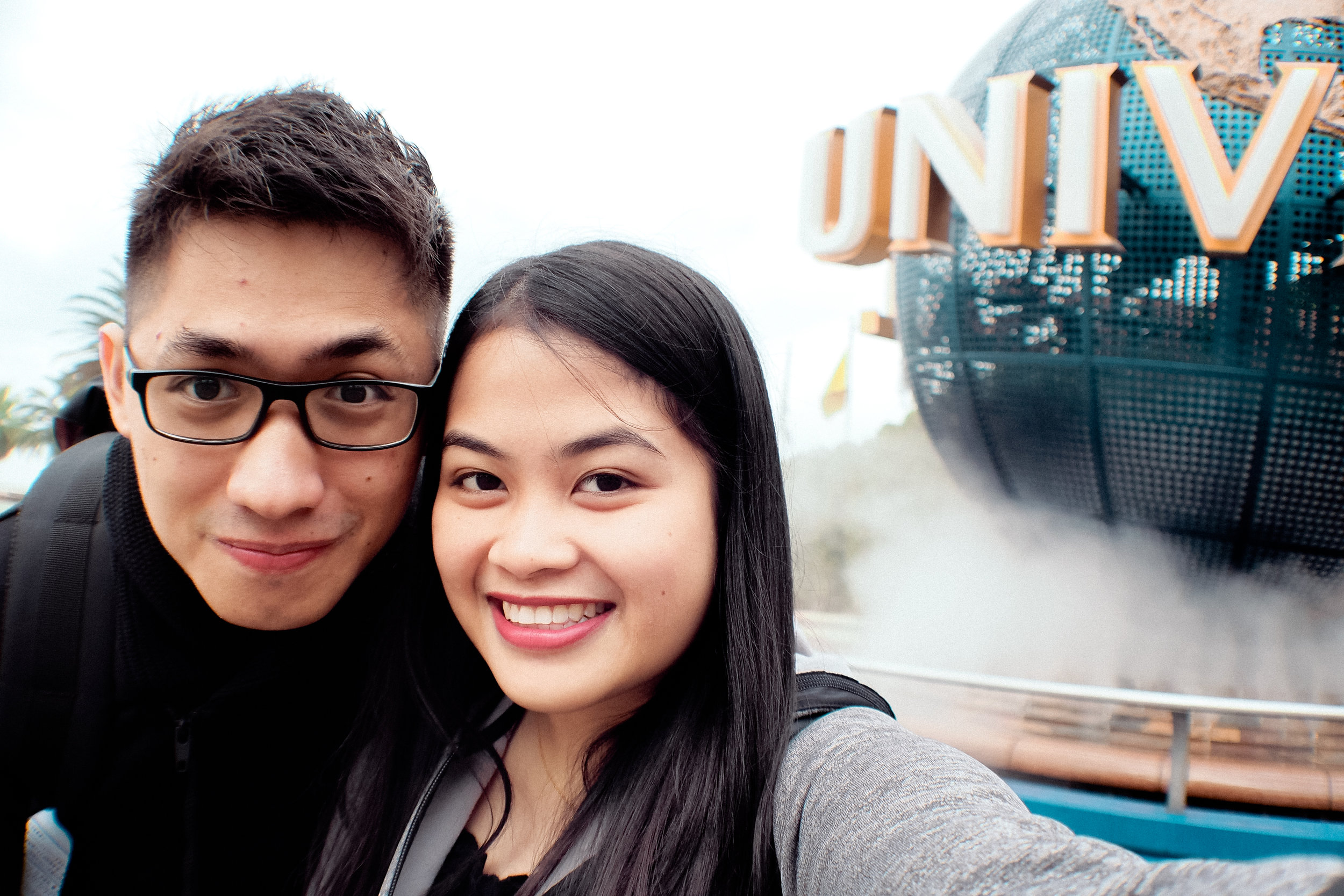 Selfie! We still look fresh here. Lol.