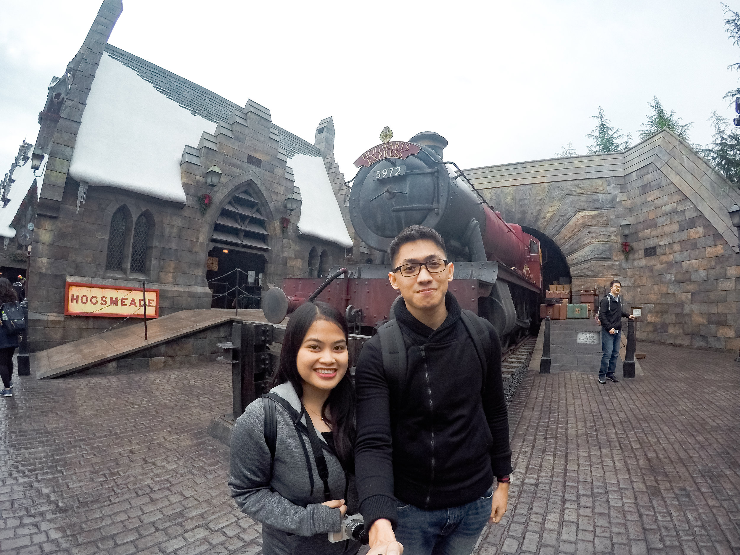 Hogwarts Express! I hope this train can really take me to Hogwarts!