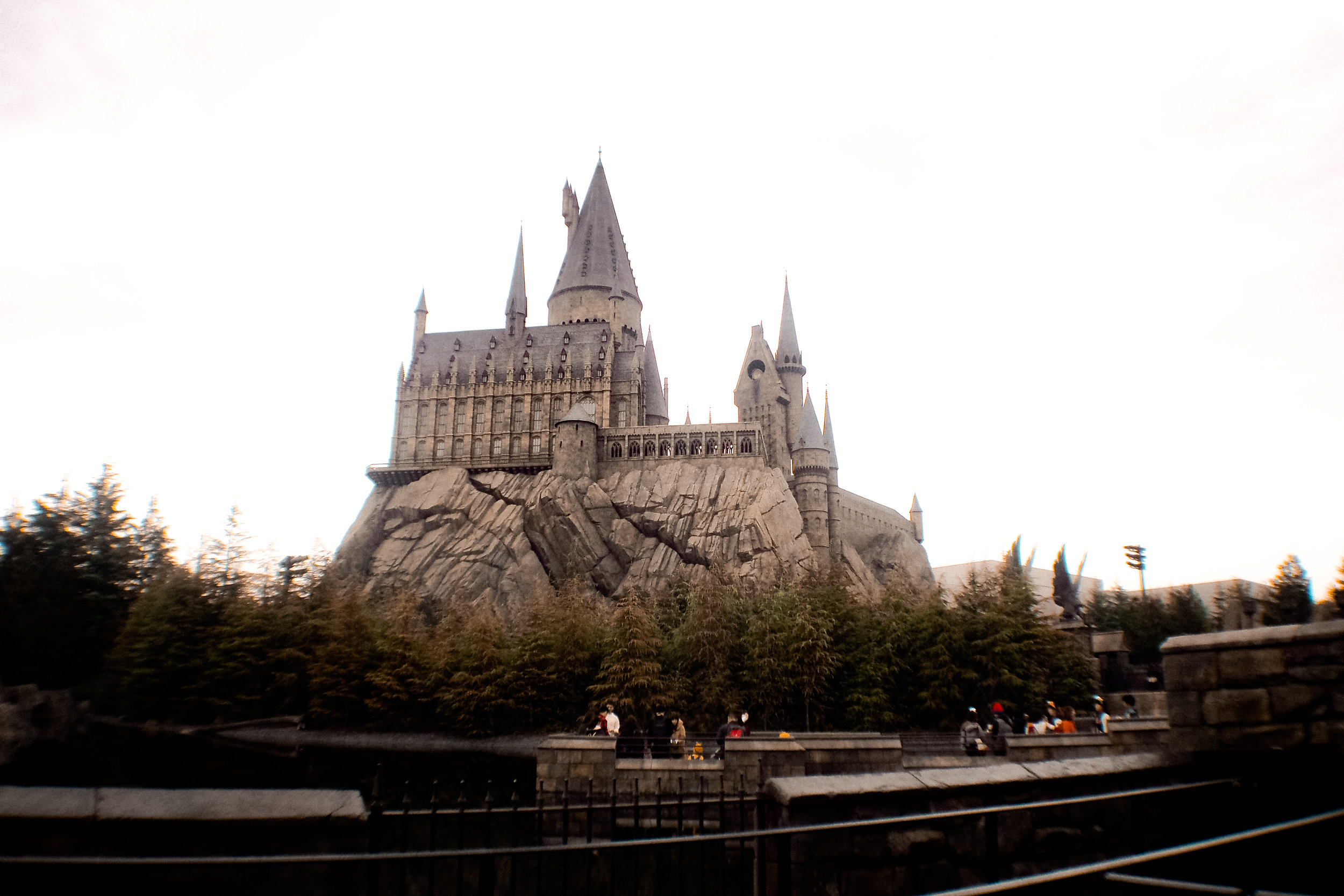 The majestic Hogwarts Castle! This is where the coolest ride in the Wizarding World is, the Harry Potter and the Forbidden Journey!